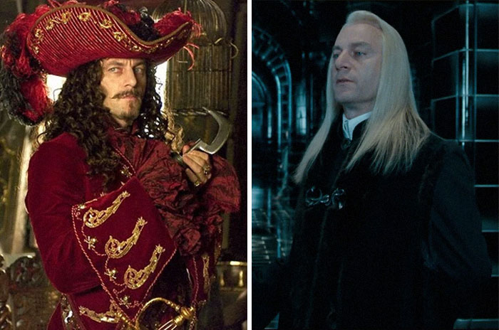 Captain Hook From Peter Pan And Lucius Malfoy From Harry Potter
