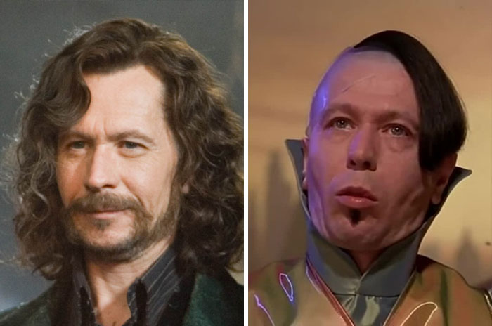 Sirius Black From Harry Potter And Zorg From Fifth Element