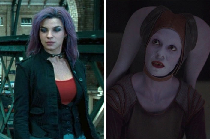 Nymphadora Tonks From Harry Potter And Twi'lek From Mandalorian