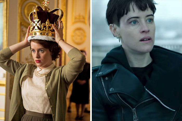Queen Elizabeth II From The Crown And Lisabeth Salander From Girl In The Spider's Web