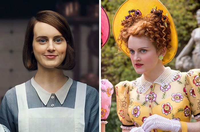 Daisy From Downton Abbey And Drisella From Cinderella