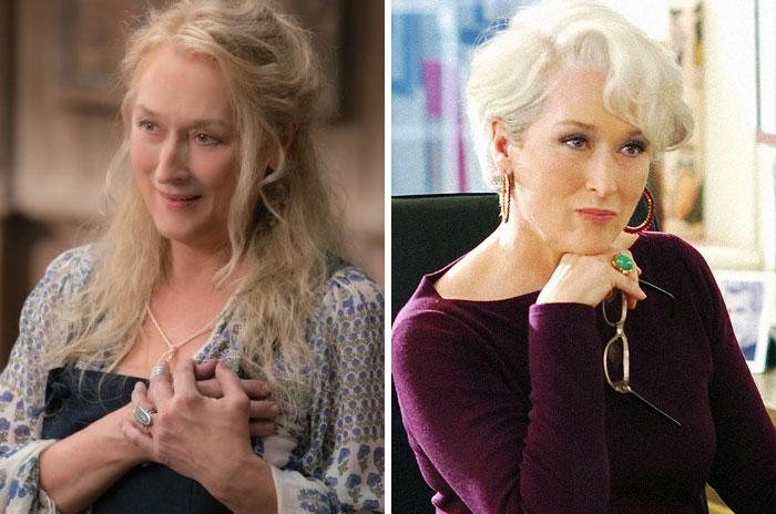 Donna Sheridan From Mamma Mia And Miranda Priestly From Devil Wears Prada