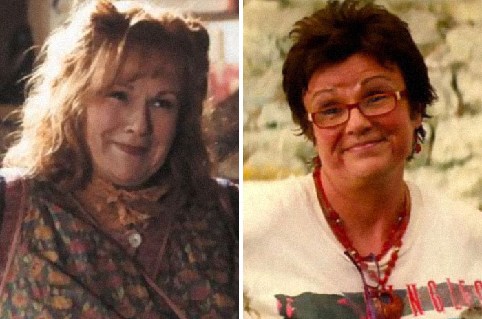 Molly Weasley From The Harry Potter Series And Rosie Mulligan From Mamma Mia!