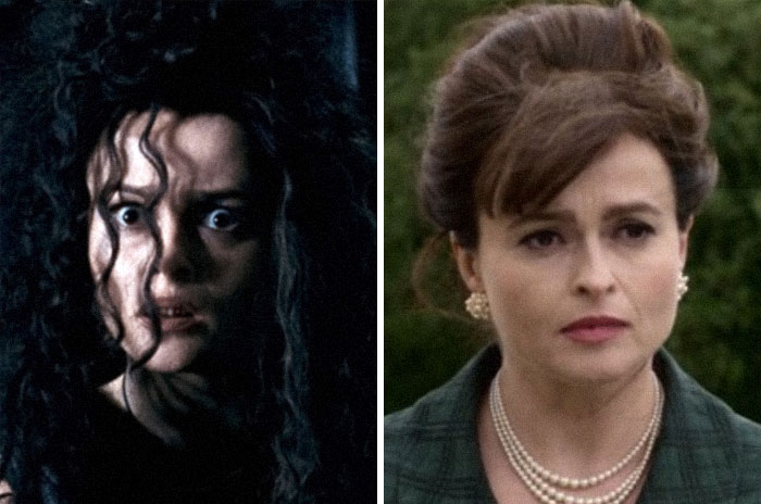 Bellatrix Lestrange From The Harry Potter Series And Princess Margaret From The Crown