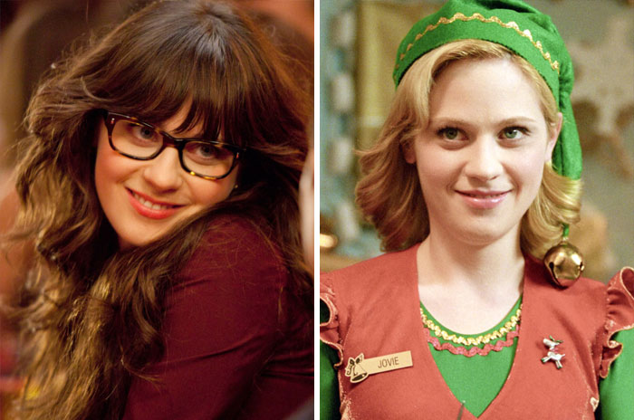 Jessica Day From New Girl And Jovie From Elf
