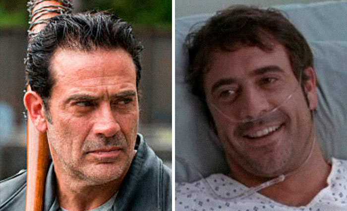 Negan From The Walking Dead And Denny Duquette From Grey's Anatomy