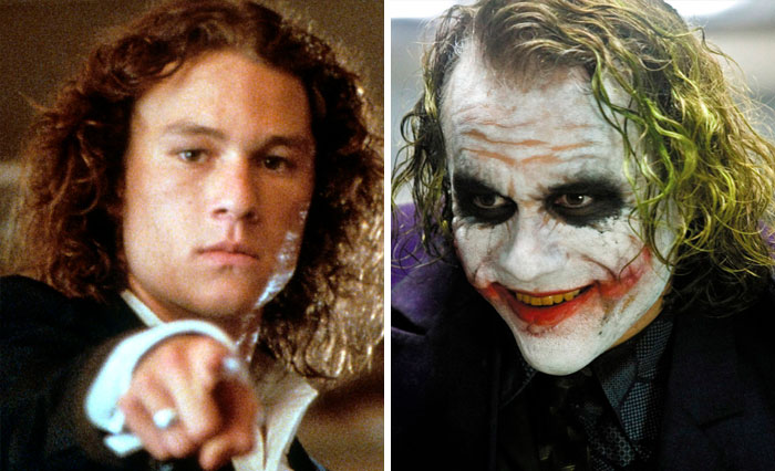 Patrick Verona From 10 Things I Hate About You And The Joker From The Dark Knight