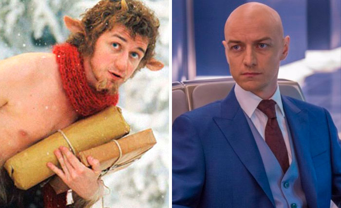 Mr Tumnus From Narnia And Professor X From X-Men