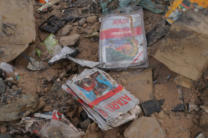 Thousands Of Copies Of E.T. For Atari Were Buried In The Desert