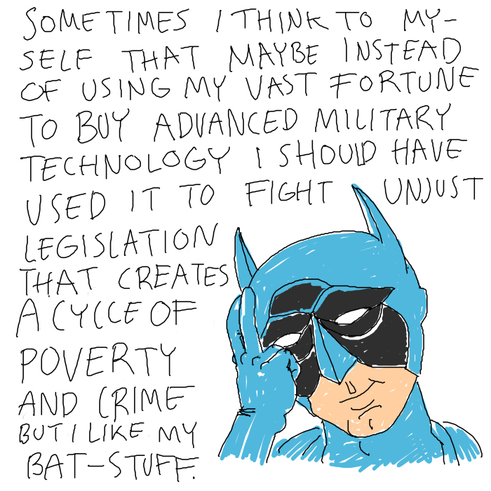 """Being """"Special"""" Isn't Always Easy: I Made These Funny Cartoons To Show The Dark Side Of Being A Superhero"""
