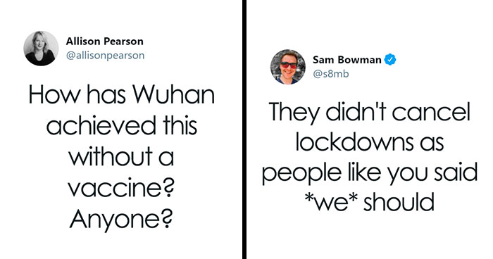 """This """"Takedown"""" Of Allison Pearson's Question About Wuhan Is Going Viral"""