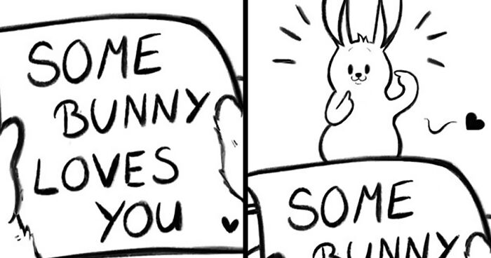Artist Creates Sweet Comics About A Bunny And A Bear In A Relationship (82 Pics)