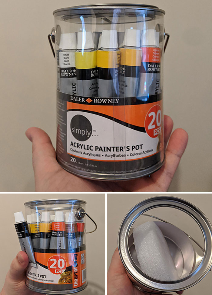Some Acrylic Paints I Bought