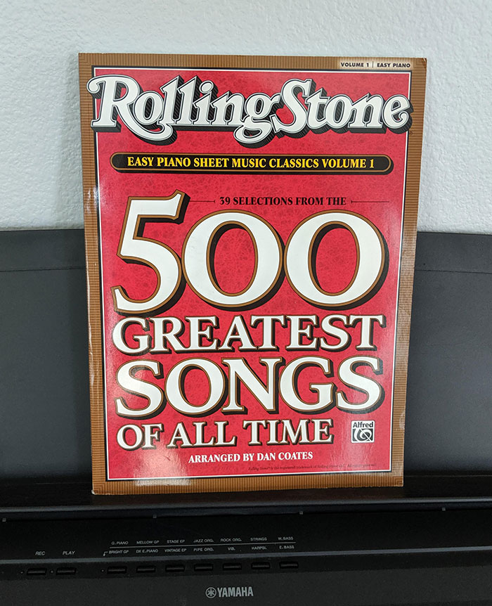 Rolling Stone Presents (39 Of The) 500 Greatest Songs Of All Time