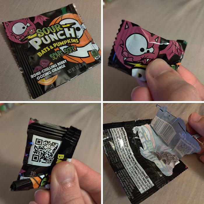 This Sour Batch Candy Bag Felt Oddly Light