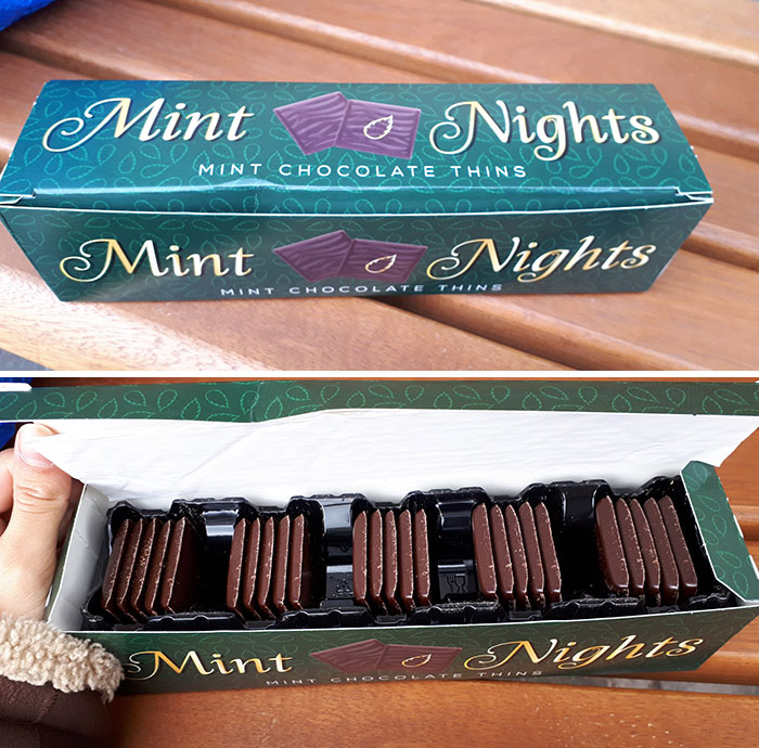 Went To Poundland And Had The Choice Between These And After Eights, Got These Cause They We're Bigger, I Paid For Air