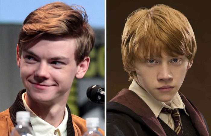 Thomas Brodie-Sangster Auditioned For The Part Of Ron Weasley In