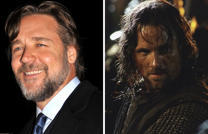 Russell Crowe Turned Down The Role Of Aragorn In
