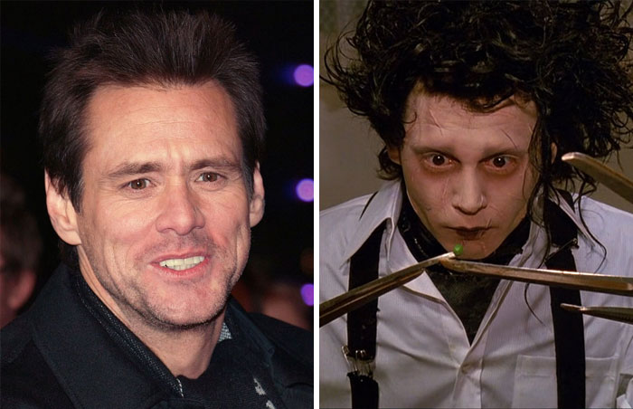 Jim Carrey Was Considered To Play Edward Scissorhands, Johnny Depp Got The Part