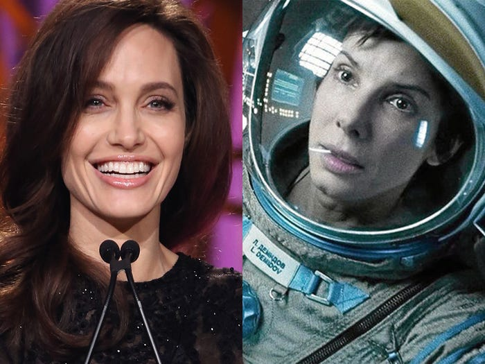 Angelina Jolie Dropped Out From Playing Dr. Ryan Stone In
