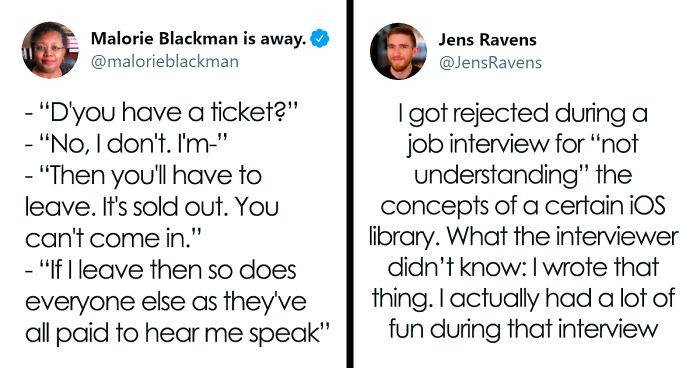 75 Embarrassing Moments When People Didn't Realize Who They Were Talking To And Made A Fool Of Themselves