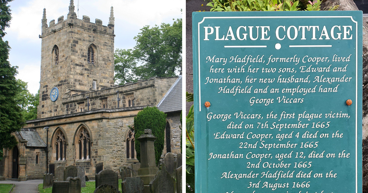 People Are Fascinated By The Story Of Eyam, A Tiny English Village That Made A Huge Sacrifice When It Was Infected With The Plague