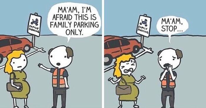 40 Ridiculously Absurd And Funny Comics By Canadian Artist