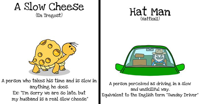 I Illustrate Norwegian-To-English Idiom Translations To Show How Weird They Can Be To Non-Native Speakers (16 Pics)
