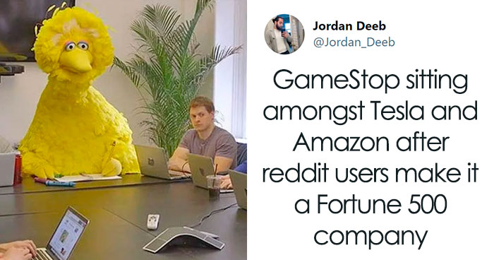 35 Of The Best Jokes And Memes That Sum Up The Current Ongoing Ridiculousness Over GameStop