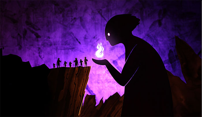 I Create Stories From Greek Mythology In My Miniature Paper Theatre