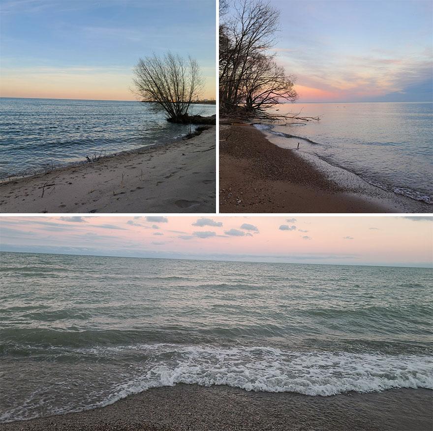 Lake Michigan- South Milwaukee, WI