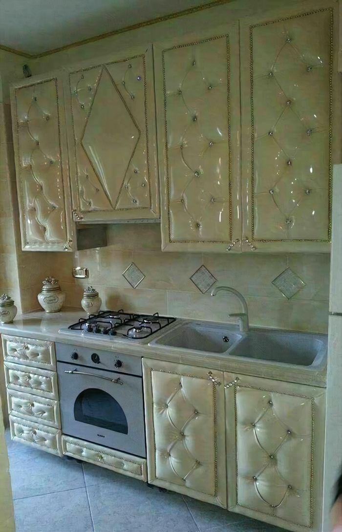 Kitchen Made By A Sofa Maker