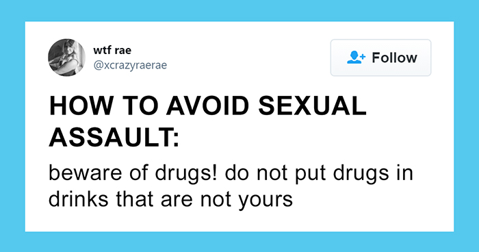 """""""How To Avoid Sexual Assault"""": This Twitter Thread Brilliantly Trolls The 'Advice' Women Are Usually Given"""