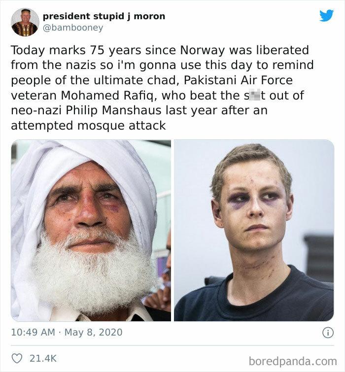 Grandpa vs. Neo-Nazi