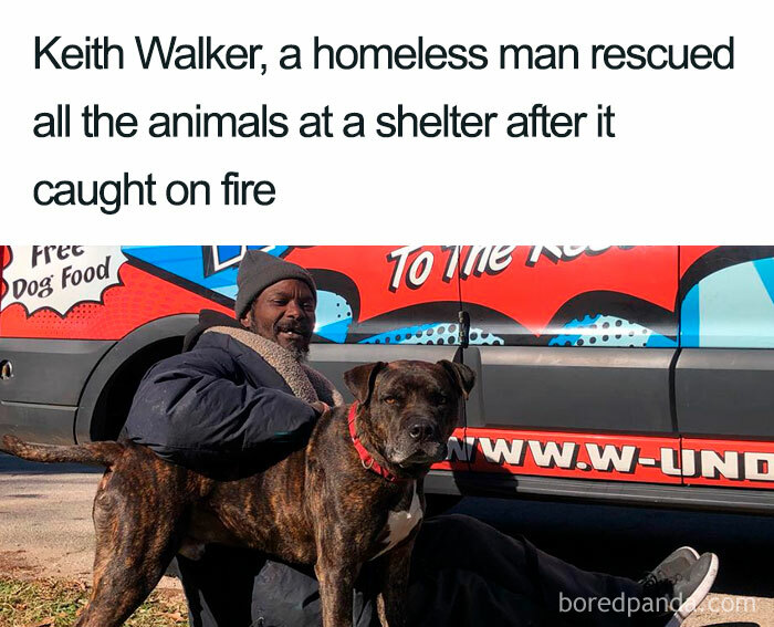 This Homeless Man Is Next Level