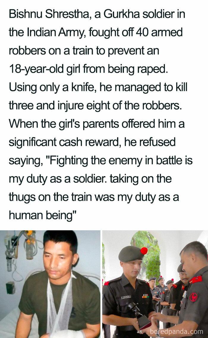 Salute To Sir Bishnu Shrestha, Thanks For Being A Hero