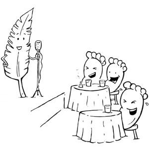 30 Divertidos comics minimalistas sin diálogos, por Karlo Ferdon
