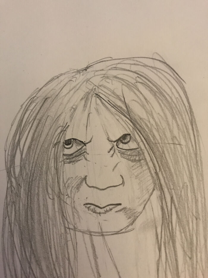 Samara From The Ring. I Watched The Movie And It Scared Me And I Don't Get Scared From Movies