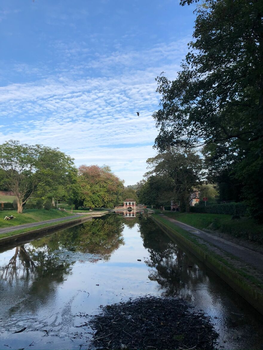 I Love The Reflection On The Water And How Blue The Sky Is. I Adore Photographing Skies & Water