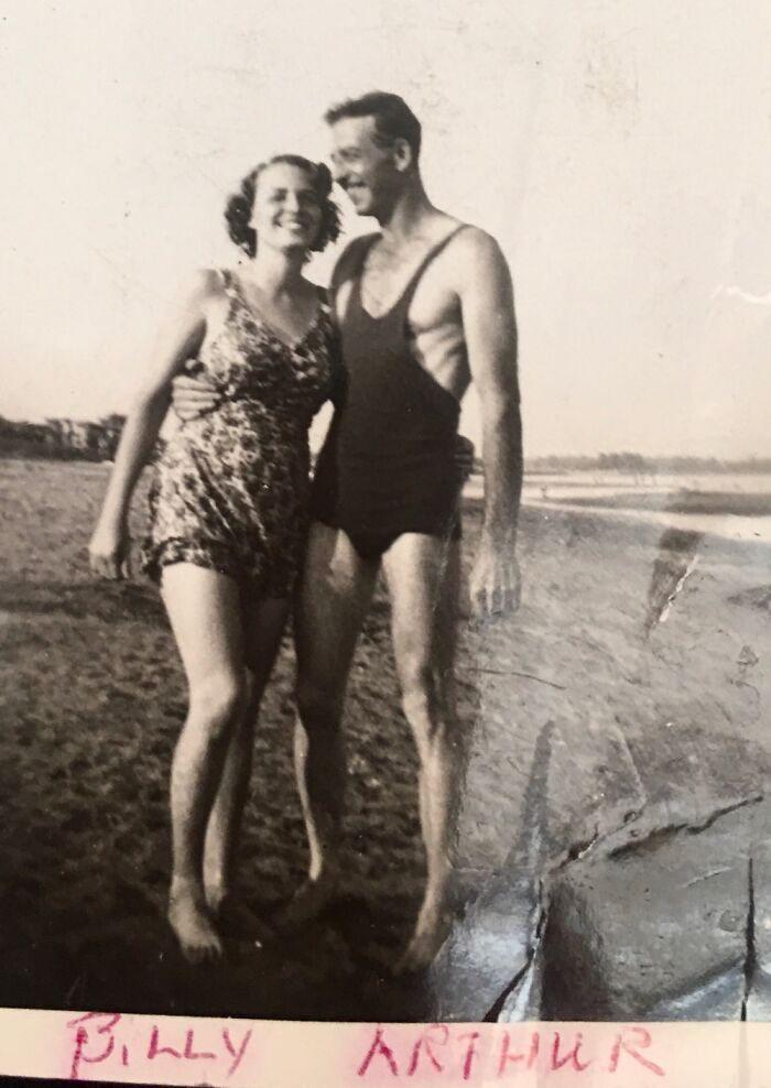 My Grandparents On A Vacation Pre Mom Birth. Prob 1937 Or 1938.