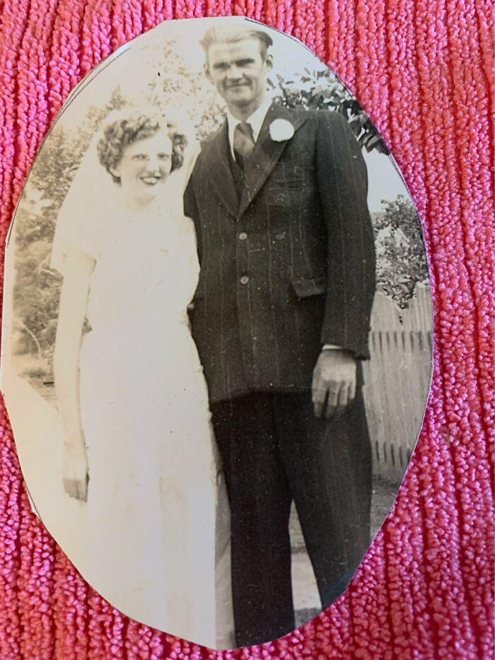 My Gr-Parents Cecile & Bernice Braun. July 1950 Lucky Lake, Saskatchewan