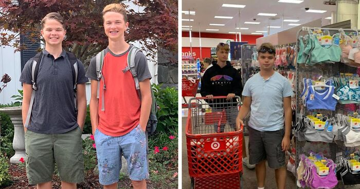 65K People On Facebook Are Praising This Mom For Encouraging Her 2 Sons To Always Carry Menstruation Supplies