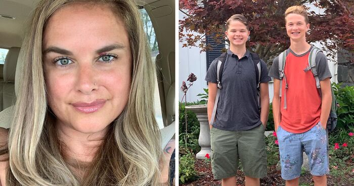Mom Praised By 65k People On Facebook For Encouraging Her Sons To See Past Menstruation Taboo