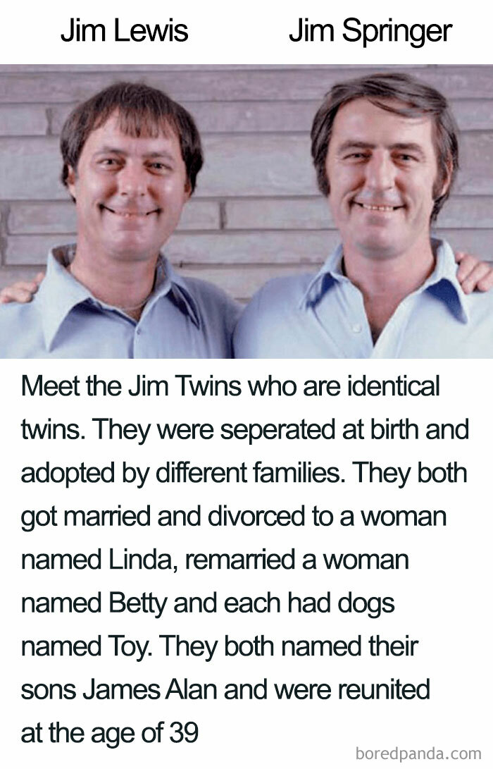 I Know Twins Have Similarities But God Damn