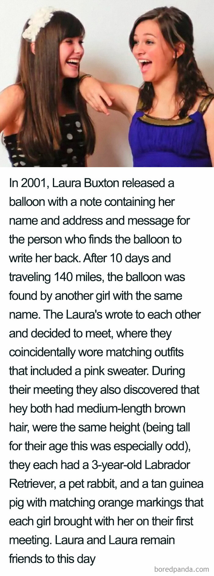 The Laura Buxton Coincidence