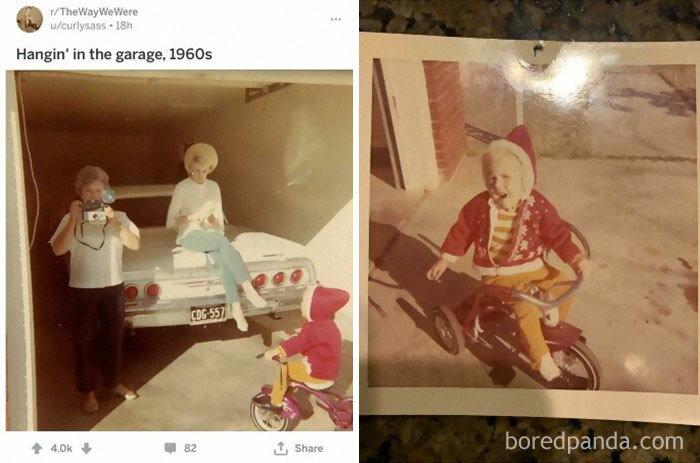 Saw This Photo Posted Here.. Noticed I Have The Photo The Grandmother Took That Day. (Bought At An Antique Shop Years Ago In Phx)