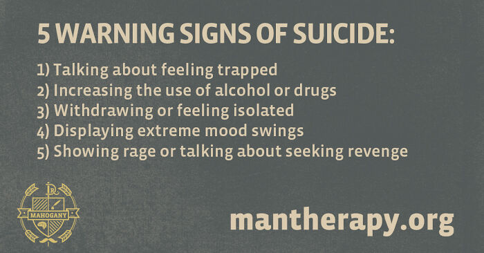 Know The Warning Signs Of Suicide