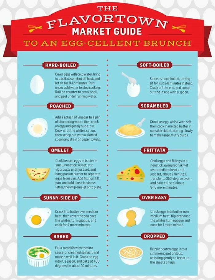 The Different Types Of Eggs And How To Make Them