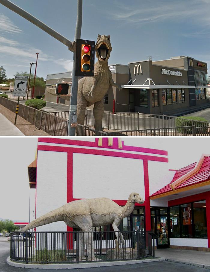 Dinosaur McDonald's (Mid 1990s) Tucson, Az
