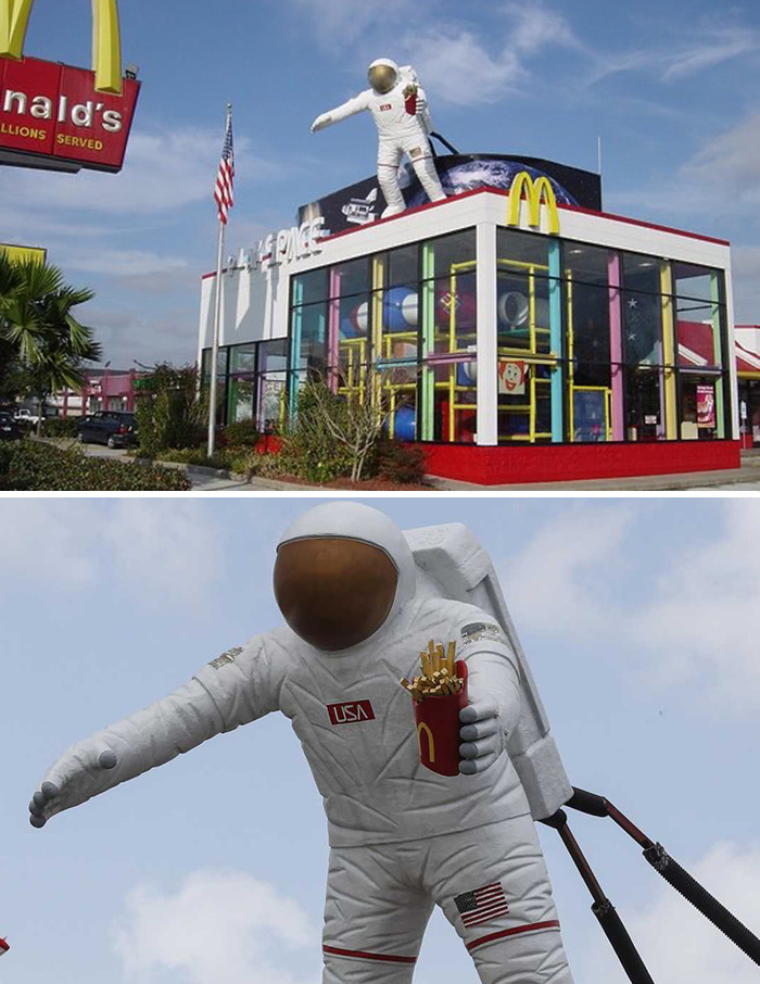 Astronaut McDonald's (Date Unknown) Houston, Tx - Near Nasa Space Center Houston